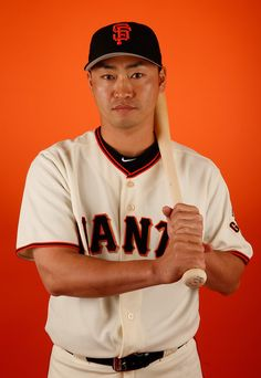 Nori Aoki #23 of the San Francisco Giants poses for a portrait during spring training photo day at Scottsdale Stadium on February 27, 2015 in Scottsdale, Arizona. (February 26, 2015 - Source: Christian Petersen/Getty Images North America)