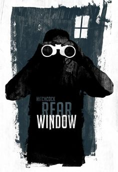 Rear Window #hitchcock #poster