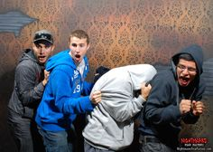 turning bro's into ScareBro's 364 days a year!! www.NightmaresFearFactory.com niagara falls scariest and best haunted house attraction.