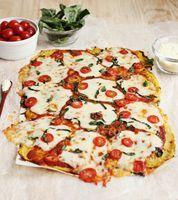 Spaghetti Squash Pizza Crust - A Beautiful Mess