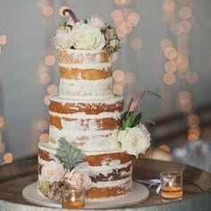 Big Wedding Cakes, Summer Wedding Cakes, Wedding Cake Designs, Wedding Cake Toppers, Blue Wedding, Spring Wedding, Elegant Wedding, Wedding Table, Rustic Wedding
