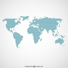 Free dotted world map vector free cnc and graphics world paper dots template free vector gumiabroncs Image collections