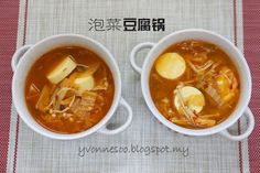 怡の乐活日志: 泡菜豆腐煲【Kimchi Tofu Soup】