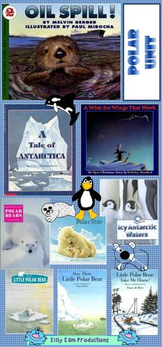 Great Books for a Polar Unit! Fiction Non-Fiction Research Text-to-Text and Text-to-World Connections!