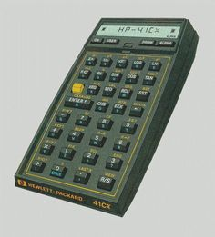 HP-41 PROGRAMMABLE CALCULATOR - never would have made it through Engineering School without it.