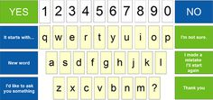 simple QWERTY letter boards in upper and lower case
