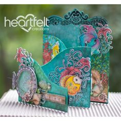 Heartfelt Creations - By The Sea Foldout Card Project