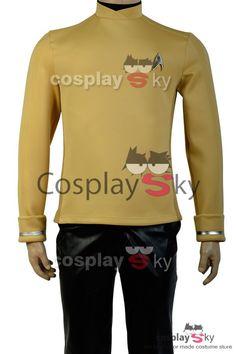 Star Trek Into Darkness Captain Kirk Spock Uniform Epaulet Mark Costume Cosplay