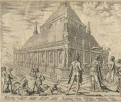 Das Mausoleum von Halikarnassos in Bodrum in der Türkei British Museum, London, Vintage World Maps, Wonders Of The World, Antiquities, Culture, Sculptures, Big Ben London