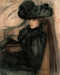 Women in Painting by Hungarian artist Jozsef Rippl-Ronai