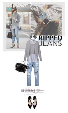 """Título 142"" by drigomes ❤ liked on Polyvore featuring Equipment, Victoria's Secret, Zara and Givenchy"