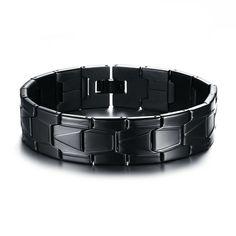 Cheap charm bracelet, Buy Quality colorful bracelet directly from China men jewelry Suppliers: Vnox Stainless Steel Men Jewelry Black Color Bracelet Bangle Punk Charms Bracelets Black Bracelets, Bracelets For Men, Bangle Bracelets, Bangles, Bracelet Men, Bangle Box, Beautiful Gifts, Beautiful Outfits, Fashion Accessories