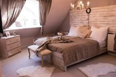 vintage ložnice
