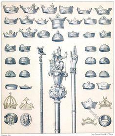 Knights Hospitaller, Knights Templar, Merovingian, Charles The Bald, Second Crusade, Renaissance, St Denis, Plantagenet, Royal Crowns