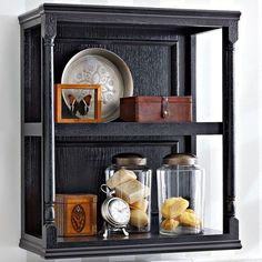 Whether you need an elegant display space or practical storage, these shelves will add a decorative touch to any room.