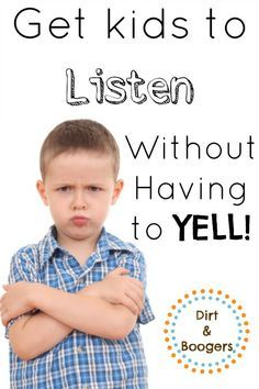 Yelling.  I think everyone yells at their kids from time to time.  But what do you do when raising your voice is the only way to get kids to listen?