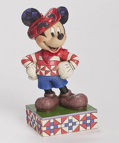 Another great find on #zulily! Disney Mickey France Figurine #zulilyfinds