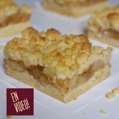 Apple Crumble Receta, Butter Crust, Deli Food, Crust Recipe, Flan, Baking Recipes, Cupcake Cakes, Bakery, Food And Drink