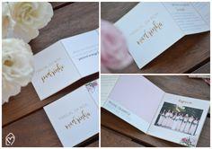 Manual dos padrinhos - detalhe dos convites que fiz com as informações do casamento para os padrinhos