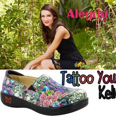 Look no further than the Keli by #AlegriaShoes if you are looking for a comfortable, secure, and protective workshoe with a cute flair that comes in a variety of patterns and colors. Find them now on ClogsAndShoes.com. #casual #comfortable #womensfashion #womensshoes #scrublife #nurse #nurselife #nursing #fashionblogger #fashion #fashioninspiration #bosslady #bossbabe #cuteshoes #hairdresser #teacher #cook #waitress #outfitoftheday #ootd #flowers #garden #floral #tattoo