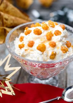 Pudding Desserts, Christmas Cakes, Creme Brulee, Pavlova, Norway, Panna Cotta, Food And Drink, Ice Cream, Baking