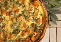 Roast Butternut, Onion & Sage Tart
