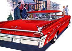 Plan59 :: Classic Car Art :: Vintage Ads :: 1959 Pontiac Parisienne