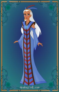 Princess Kida { Ceremonial Gown } by kawaiibrit Princess Kida, Disney Princess Facts, Disney Fun Facts, Punk Disney Princesses, Princess Art, Disney Characters, Disney Dream, Disney Style, Disney Love