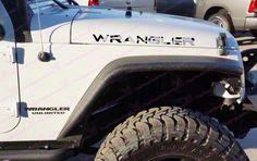Jeep WRANGLER Grey Urban Digital Camo Hood Decals