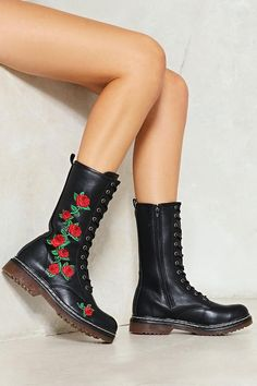 b8ac367cf542 Under the Rose Floral Boot Floral Boots