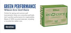 Wilson Eco Golf Balls