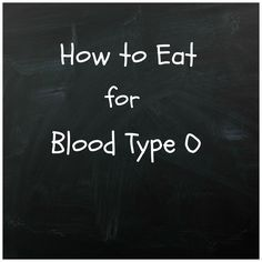 Since I am a blood type O, I've done lots of research on this type and know much more about it! A little about type O : Blood type O is...