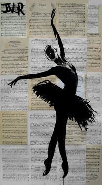 View LOUI JOVER's Artwork on Saatchi Art. Find art for sale at great prices from artists including Paintings, Photography, Sculpture, and Prints by Top Emerging Artists like LOUI JOVER. Ballerina Kunst, Newspaper Art, Ballet Art, Ballet Painting, Illustration, Dance Art, Art Plastique, Painting & Drawing, Amazing Art