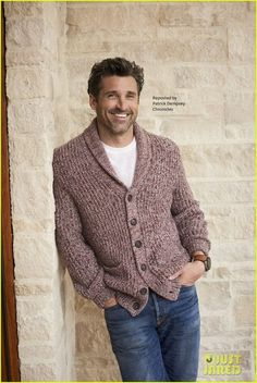 😍Patrick Dempsey = THE PERFECT MAN! 2016 photo brian bowen smith x hl living los angeles Patrick Dempsey, Beautiful Men, Beautiful People, Derek Shepherd, Taylor Kinney, Guys And Dolls, Streetwear, Papi, Matthew Mcconaughey