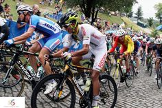 Stradalli  Carbon Road Cycle at Richmond 2015 UCI Road World Championships with Colombian National Team Cyclists