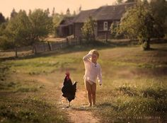 Childhood in the countryside, Romania