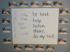 Back to school classroom rule idea, plus FREE CCSS I Can Statement Cards!