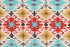 Mill Creek Stefan - Fresco Printed Poly Outdoor Fabric in Santa Fe. This printed indoor/outdoor fabric is perfect for any project where the fabric will be exposed to the weather. Uses include cushions,...