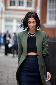 Yasmin Sewell - The Cut / London Fashion Week Street style