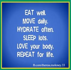 Practice a Good Life Style - If you want to live  well and live longer, exercise is  one of  your  best and free choices to fulfill this goal.