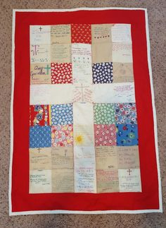 Good Deed Quilt made for my friend's religious retreat