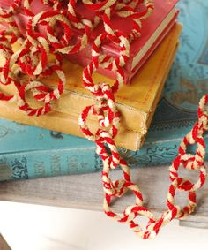Take a look at this Red & Cream Chenille Link Garland by Lancaster Home & Holiday on #zulily today!
