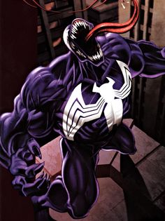 "Venom (Edward Charles Brock) (Human/Mutate) (New York City, New York, U.S.A.) Vigilante; former journalist, government operative. Alien symbiote grants; superhuman strength (can lift up to 11 tons), agility, reflexes, endurance. Organic webbing. Ability to cling to most surfaces. Immunity to Spider Sense. Limited shapeshifting, camouflage. Knowledge of the previous host. 6' 3"" tall."
