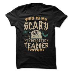 Halloween Tshirt For Kindergarten Teacher T Shirt, Hoodie, Sweatshirt
