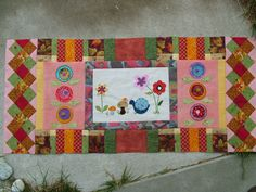patchwork posse sage kitty | Kitty Cat Quilter