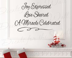 christmas wall stickers - Google Search