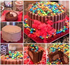 Kit Kat Ice Cream Cake!