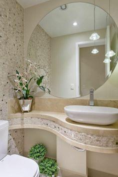 Apartamento Jundiaí: Banheiros modernos por Designer de Interiores e Paisagista Iara Kílaris Bathroom Interior Design, Home, Large Bathroom Remodel, Shower Makeover, Modern Bathroom, Simple Bathroom, Rustic Remodel, Cheap Bathroom Remodel, Bathroom Decor