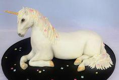 Another winner xxx Unicorn Cake Design, Unicorn Cake Topper, Unicorn Cakes, 4th Birthday Cakes, Unicorn Birthday Parties, 10th Birthday, Pink Velvet Cupcakes, My Little Pony Cake, Unicorn Foods