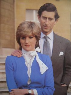 Lady Diana Spencer Engagement Announcement
